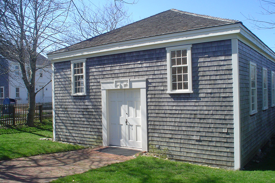 The African Meeting House on Nantucket