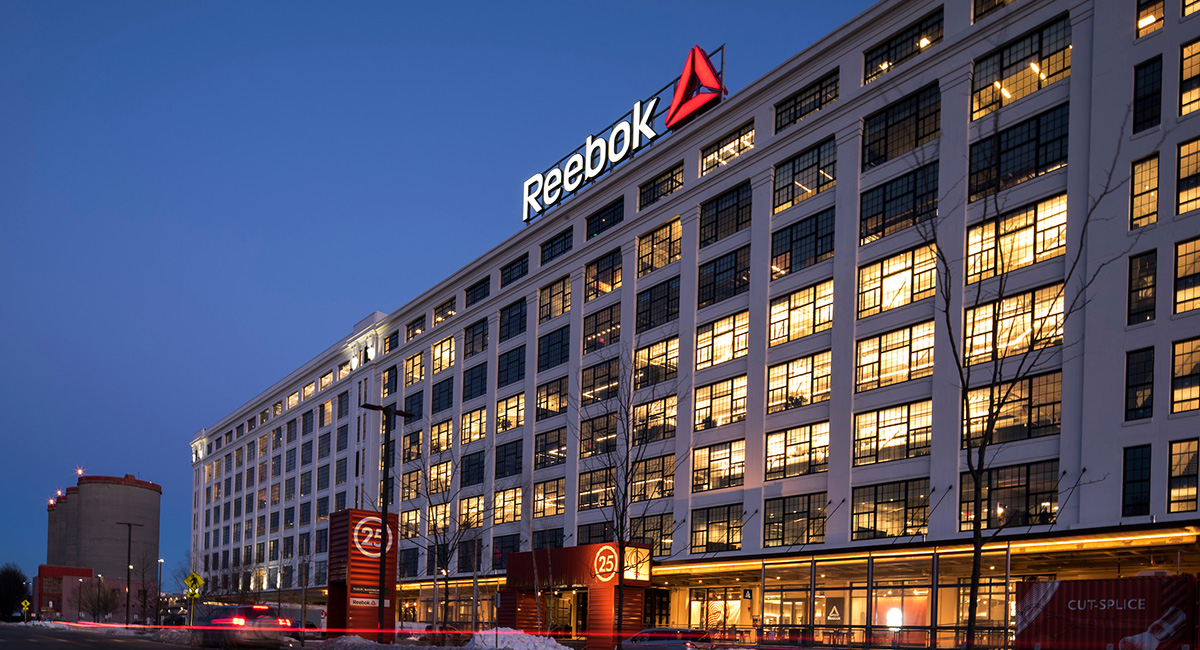 Peek Inside Reebok s New Global Headquarters in the Seaport e3b07c645