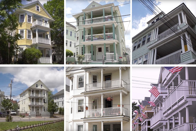 A New Documentary Explores New England's Love for Triple-Deckers