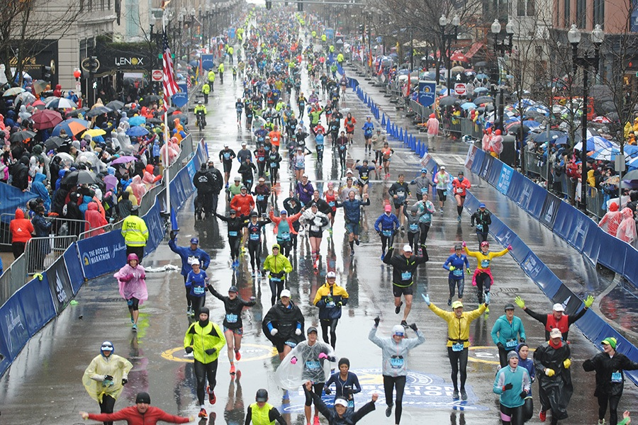 Thousands Of Athletes Received Medical Attention At The Delapan Boston Marathon