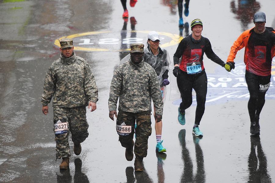 Boston Marathon 2018 Finish Line Photos