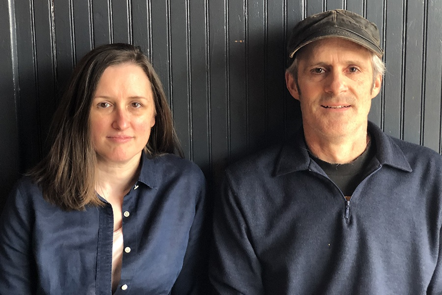 Chef Robyn McGrath and David Doyle of Jamaica Plain diner Little Dipper