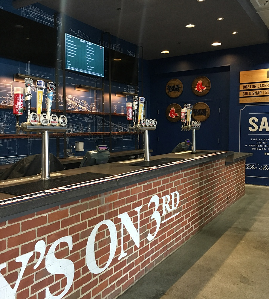 Sammy's on 3rd at the 3rd Base Concourse at Fenway Park