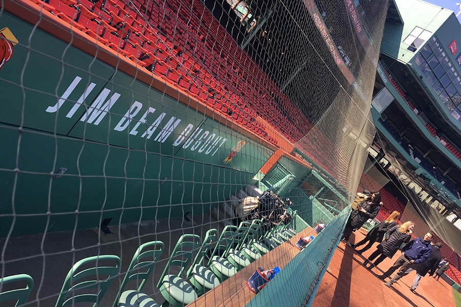 The Jim Beam Dugout at Fenway Park