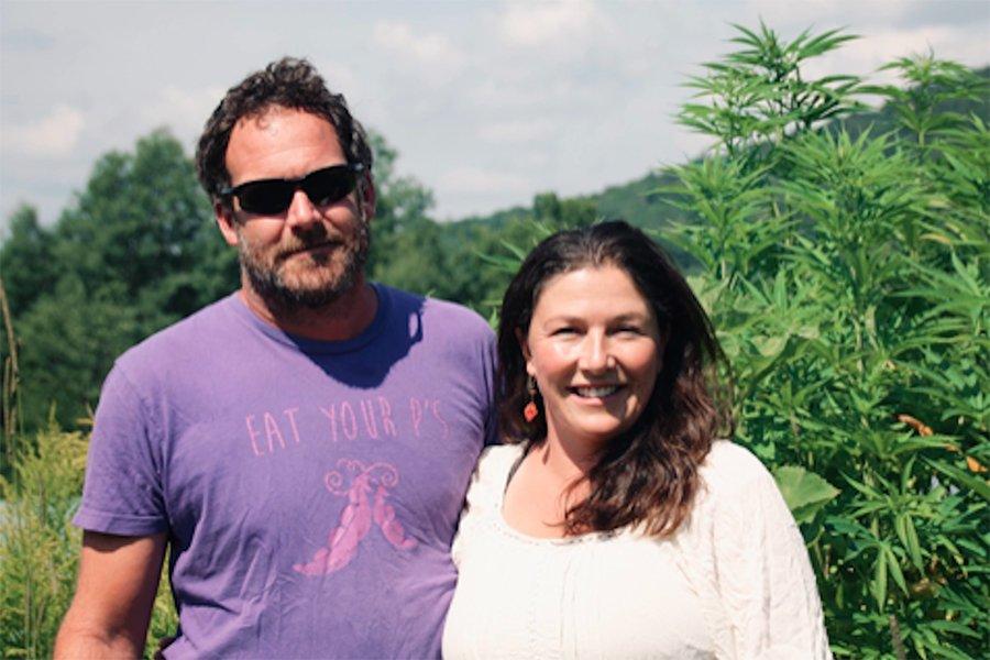 Joe and Becca Pimentel of Luce Farm