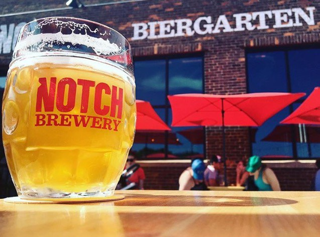 The Notch Biergarten in Salem