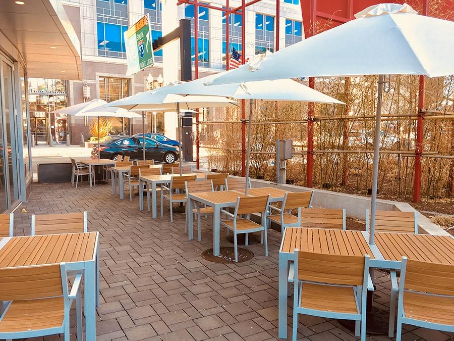 Townsman patio