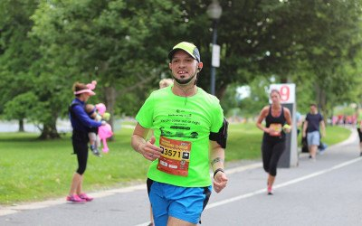 David Doxzen running