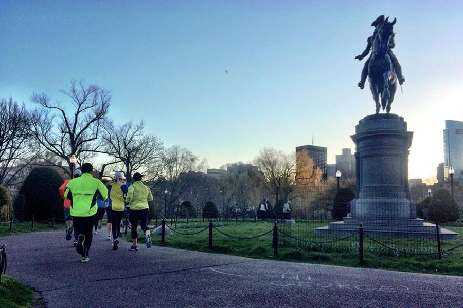 healthy things boston run
