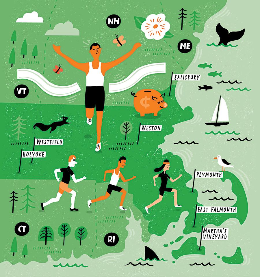 massachusetts marathons spring 2018