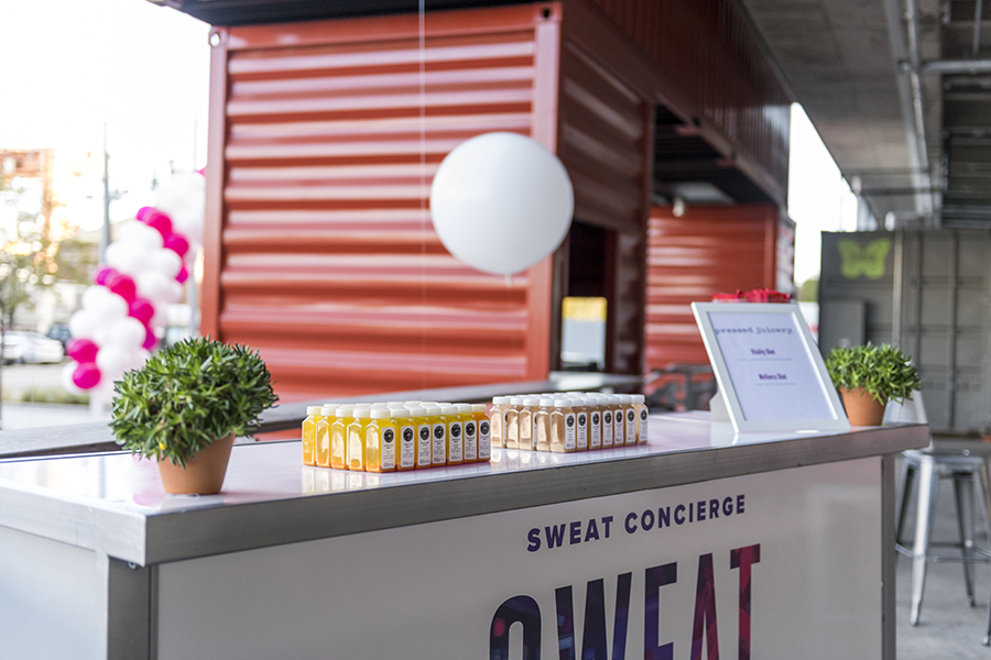 SweatCon Rally check-in