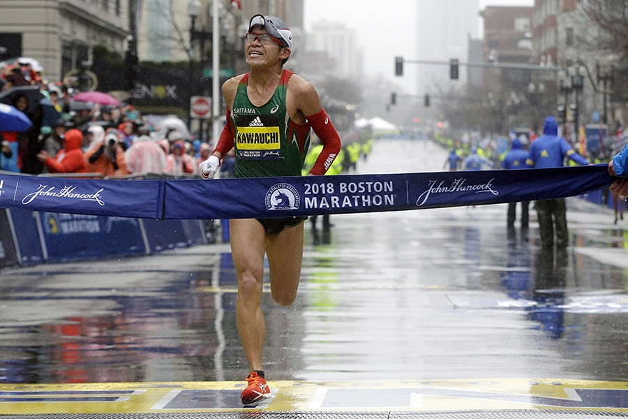 how to get a place in the boston marathon
