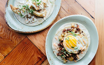 Tacos at Burro Bar South End