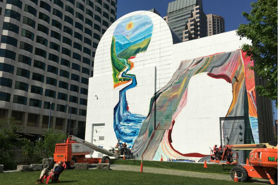 Greenway mural summer 2018
