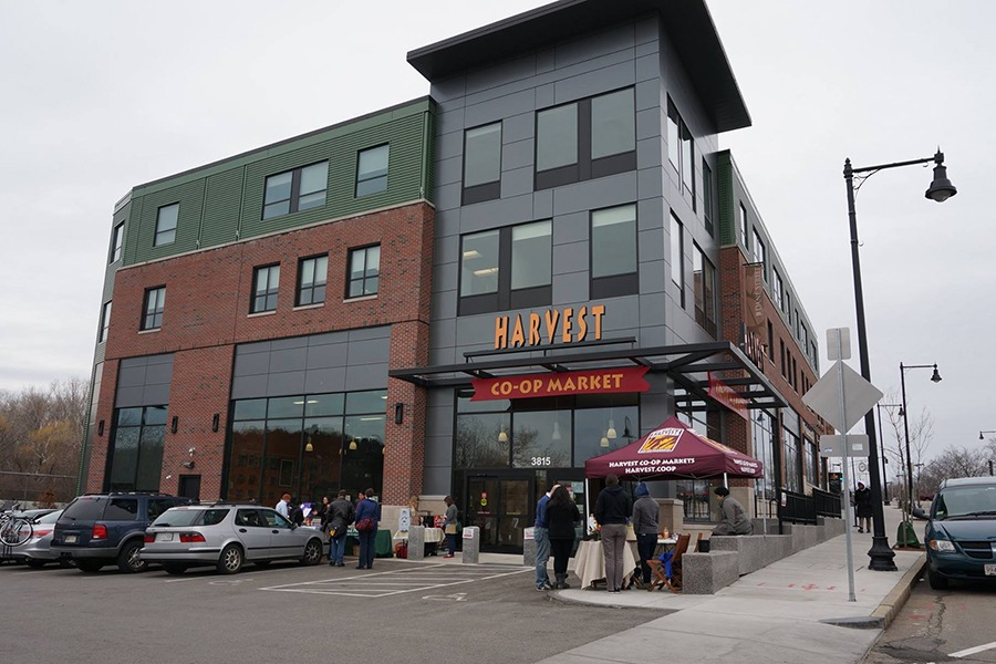 Harvest Co-Op Market in Jamaica Plain