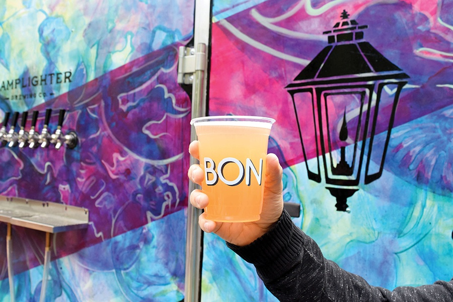 Lamplighter Brewing Co. and Bon Me have a new shandy available at the Central Flea Beer Garden