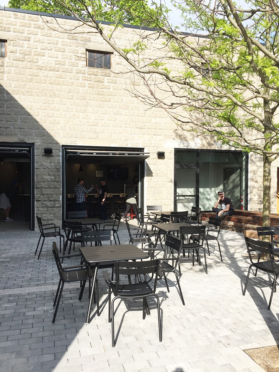 The patio outside Remnant Brewing opens Saturday, May 12