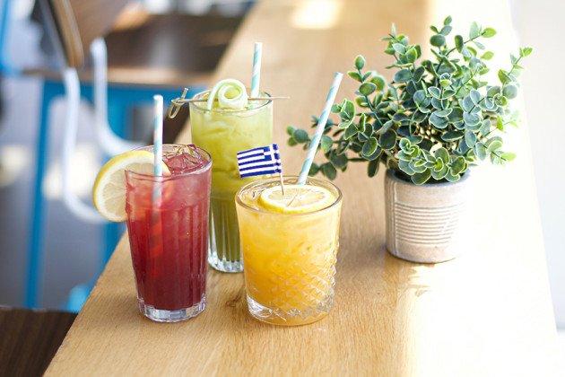 Saloniki Greek-inspired cocktails
