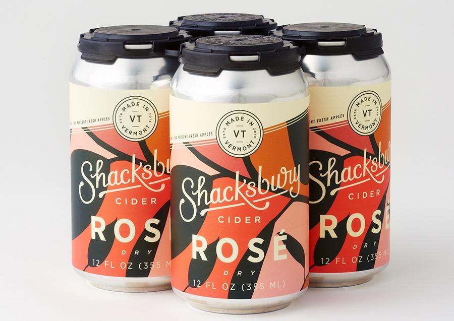 Shacksbury rose cider