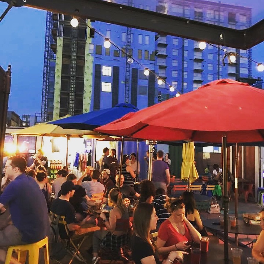 American Fresh Beer Garden at Assembly Row