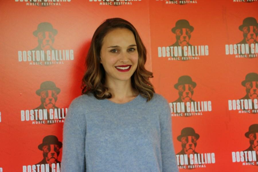 Natalie Portman smiles