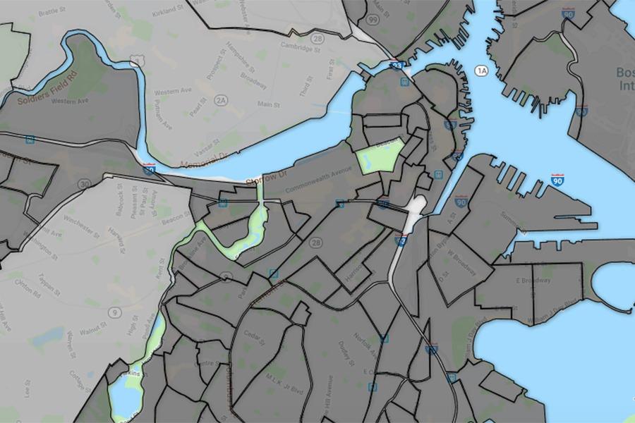 NeighborhoodXs Interactive Map Attempts To Settle Bostons Muddled - Boston neighborhood map