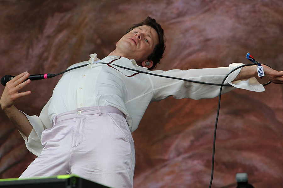 Perfume Genius performs