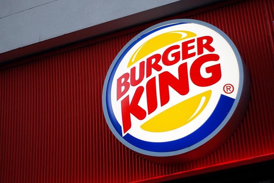 A Burger King logo