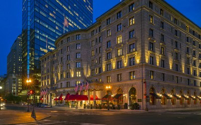 The Fairmont Copley Plaza at night
