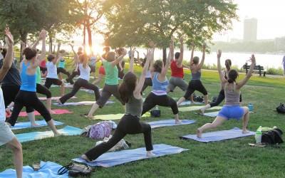 Fitness on the esplanade