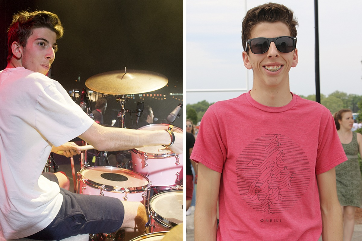 Meet the Local Teen Who Played Drums with The Killers at Boston Calling