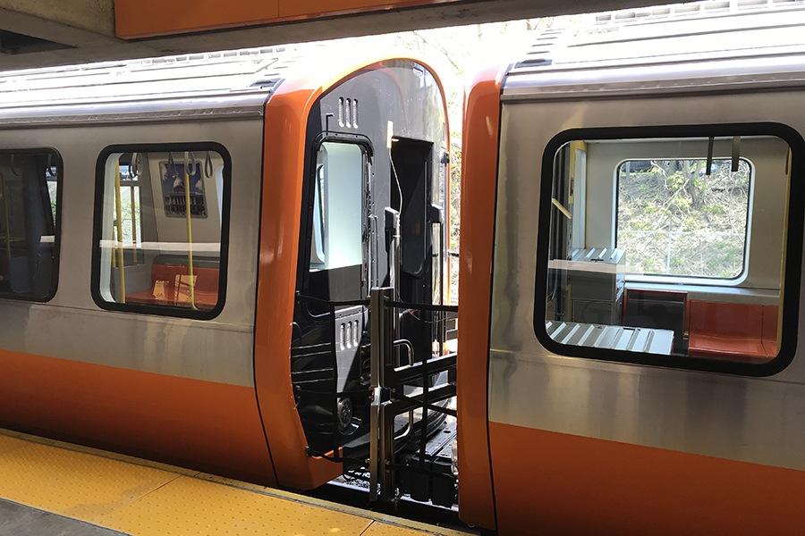 New Orange Line trains
