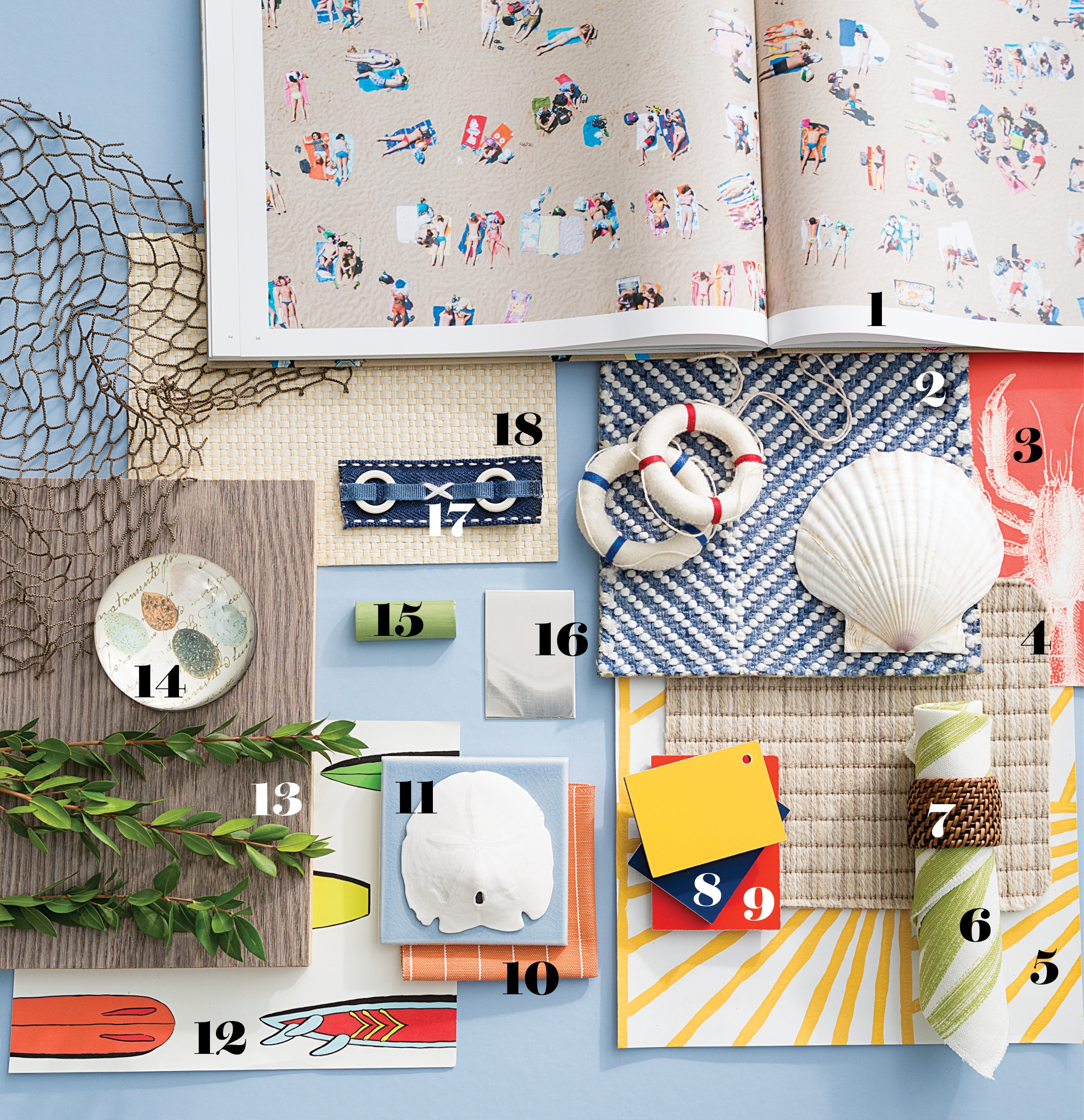 Palettes Three Mood Boards For Beach House Inspiration