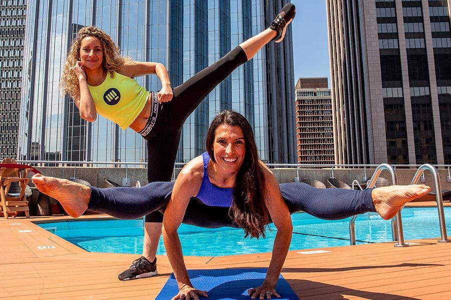 Eliza Shirazi and Rebecca Pacheco