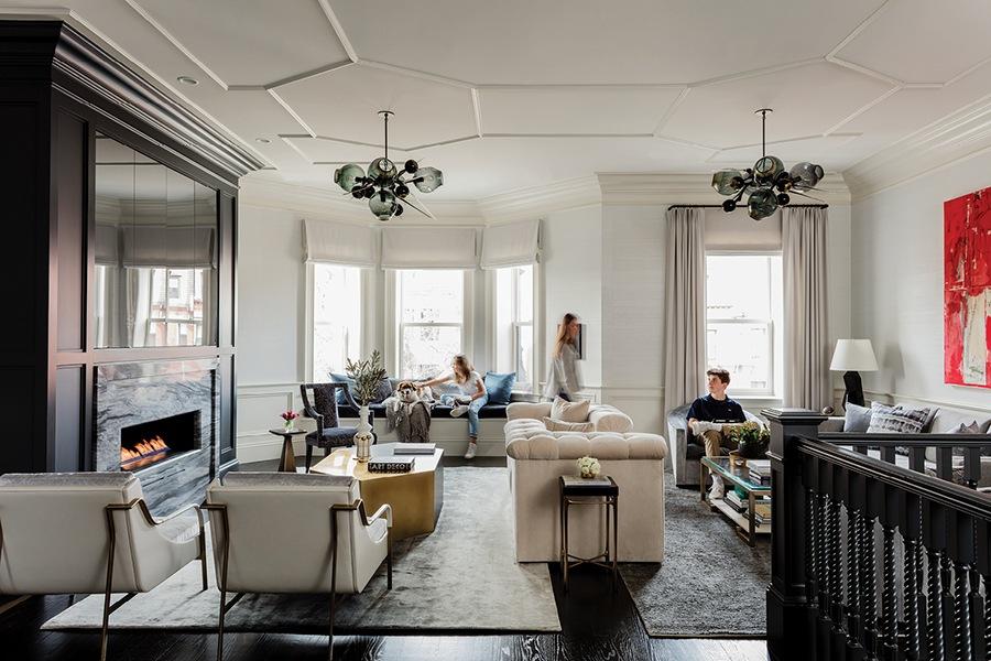 Designer Dee Elms Revamps A Back Bay Townhouse