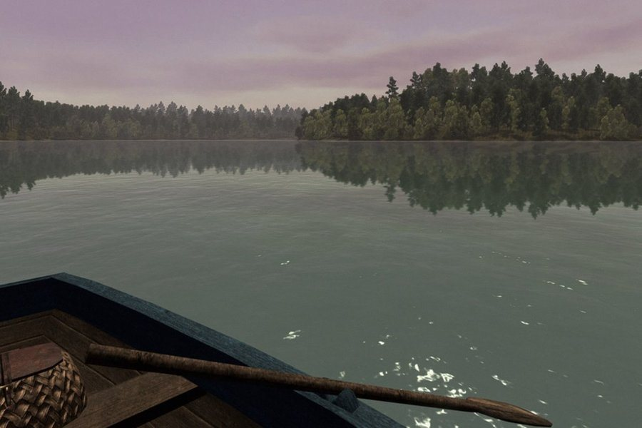 A video game version of Walden Pond