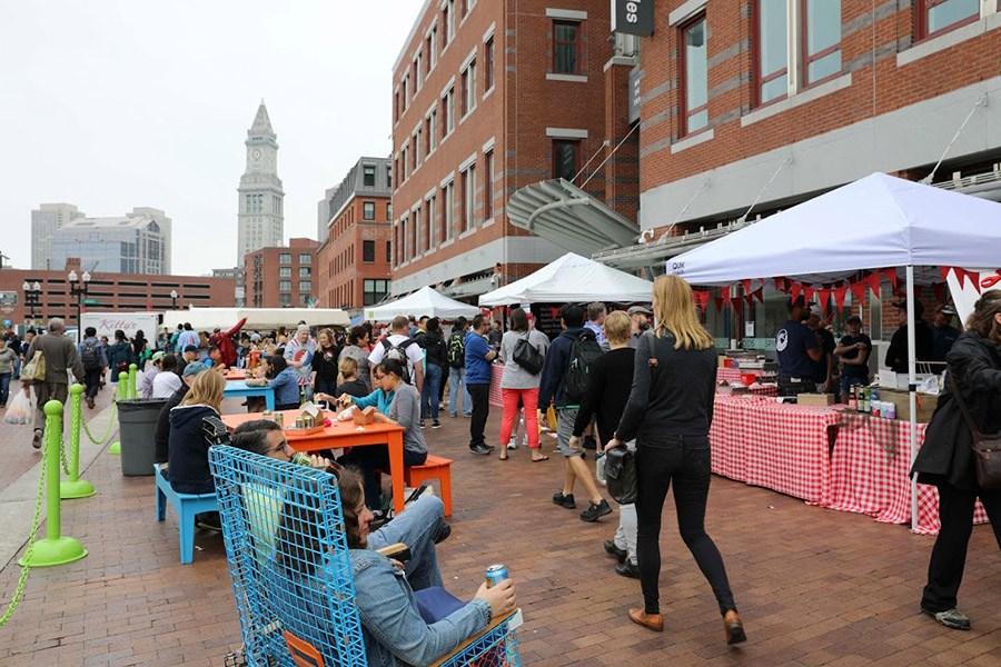 Boston Public Market plaza festival
