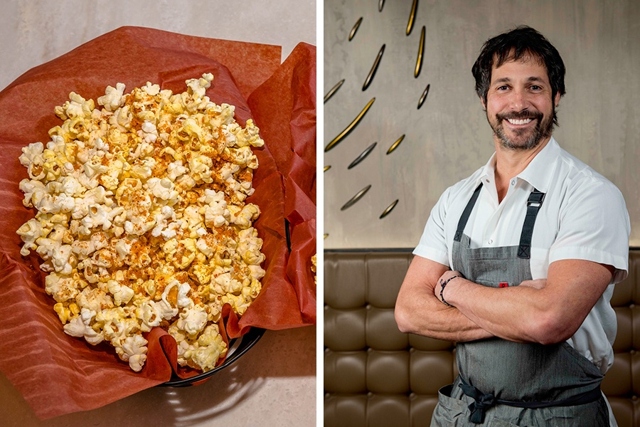 Chef Ken Oringer has created pah Thai popcorn for Showplace Icon Boston in June