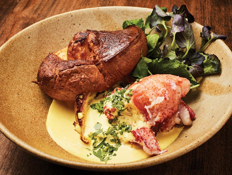 With Lobster Meat And An Eggy Popover Loyal Nine S Take On Eggs Benedict Is Hyperlocal Photo By Jim Brueckner For The Best Breakfasts In Boston