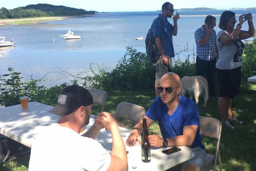 PorchFest Quincy has a waterfront beer garden