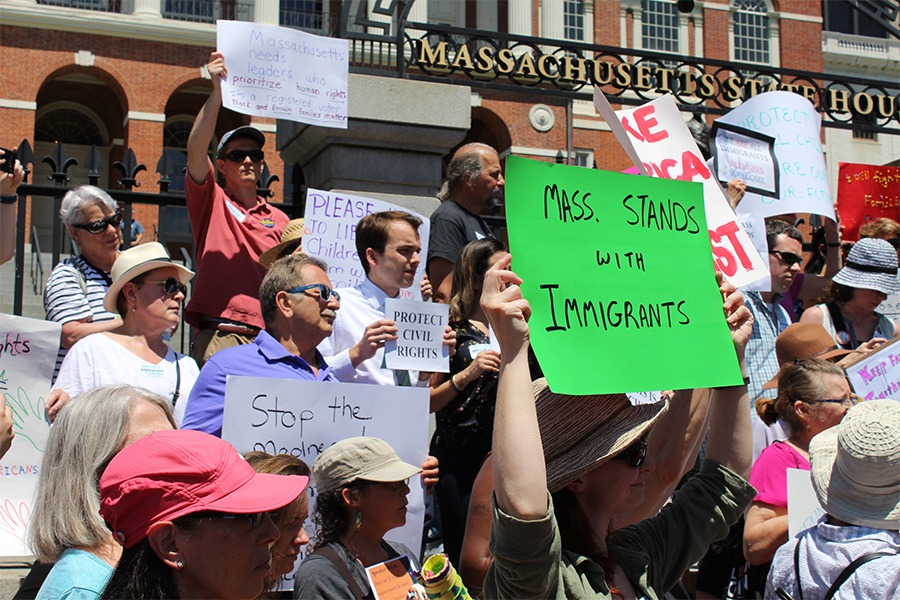 massachusetts immigration protest