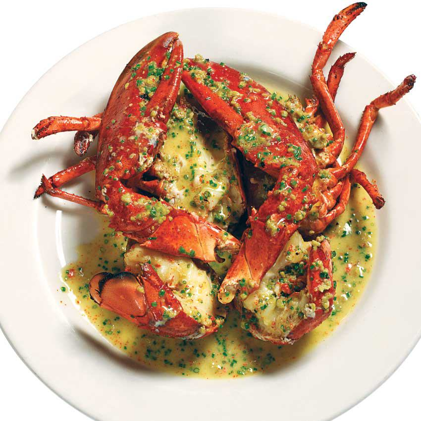The pan-roasted lobster at Summer Shack