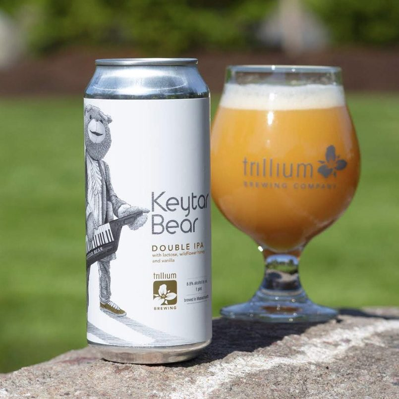 Trillium Brewing unveiled Keytar Bear Double IPA at its Boston and Canton breweries today