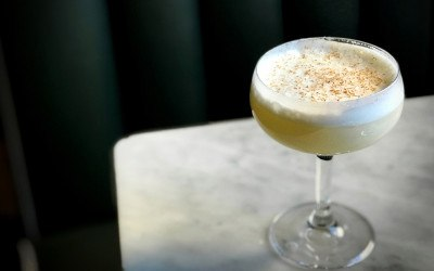 The Apprentice is one of a few creative mocktails on the menu at Waypoint