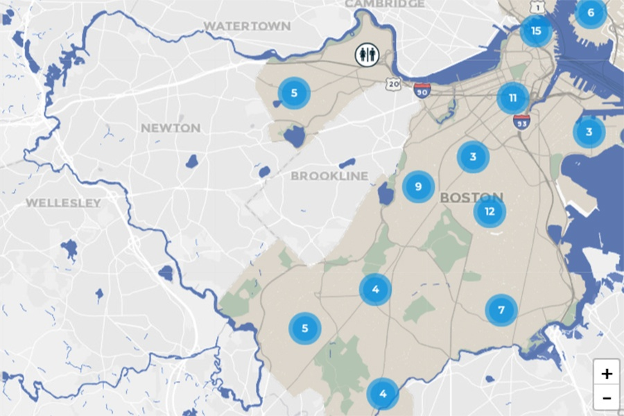 Heres Where You Can Find The Nearest Public Restroom In Boston - Nearest bathroom
