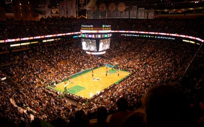TD Garden packed with fans