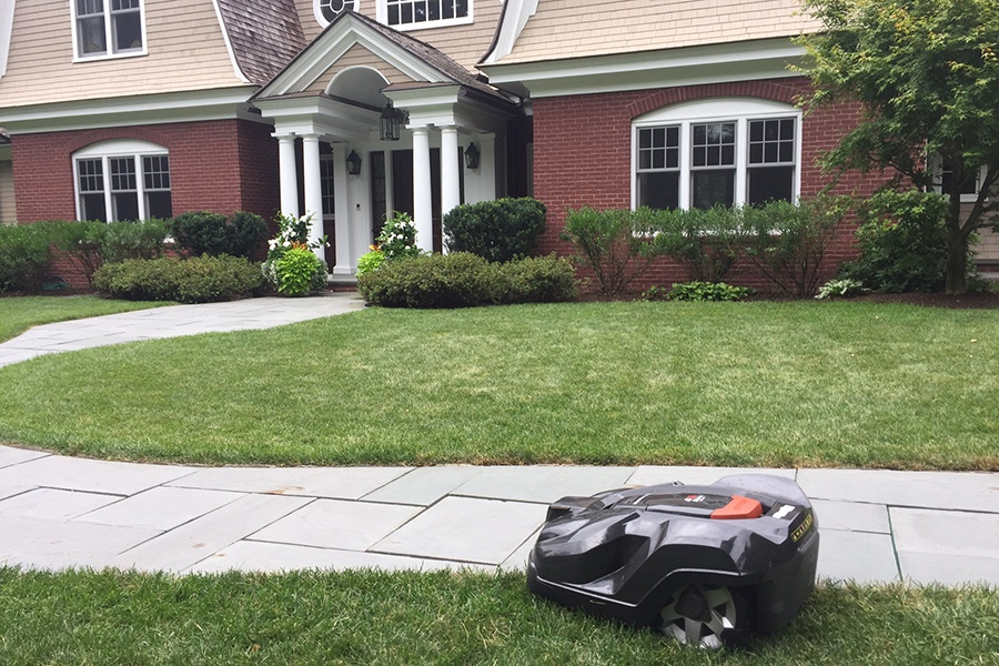 This Walpole Landscaping Company Uses Robots To Mow Your Lawn
