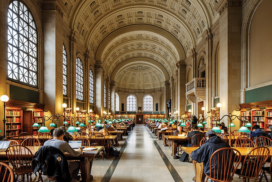 Back In Circulation How Boston S Libraries Are Finding New Life Boston Magazine