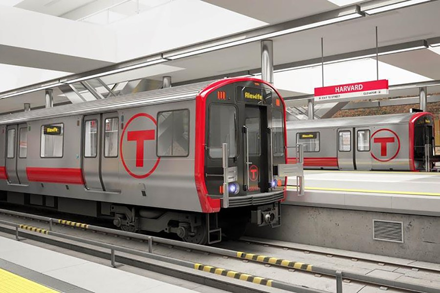 A new Red Line car