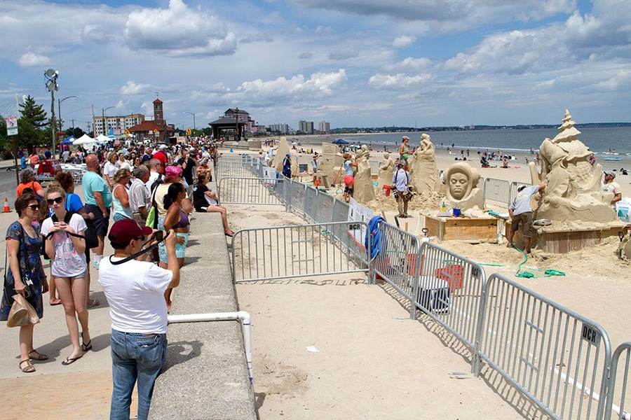 Revere Beach International Sand Sculpting Festival Events Boston